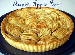 This Classic French Apple tart uses the classic European Sweet Pastry Crust (Pate Sucree) which is like a Sable cookie dough. It contains both butter and an egg which gives the crust a rich sweet buttery flavor.  www.delibaking.com