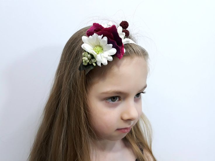 Excited to share the latest addition to my #etsy shop: Flower baby headband, baptism crown, infant headband, newborn headband, photo props. http://etsy.me/2oIRMPd #accessories #hair #headband #anniversary #babyhandband #newbornheadbands #flowerheadbands #floralcrown #b