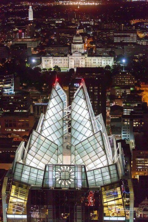 Austin, Texas at night
