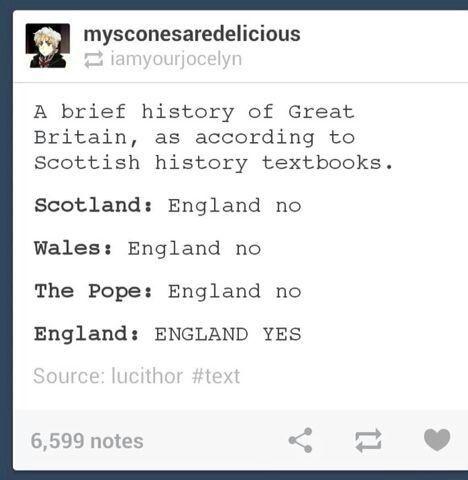 Yesterday: US: England no France: England no Scotland: England no All of the countries: England no England: England YES