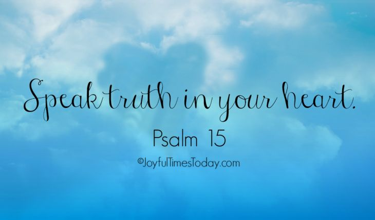 Psalm 15