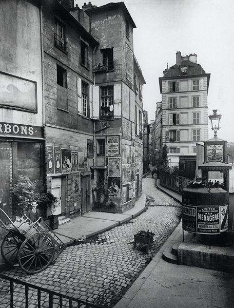 Rue des Ursins, 1900 Eugene Atget