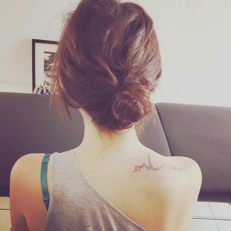 Skyline Tattoos | POPSUGAR Smart Living