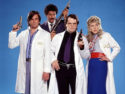 Garth Marenghi's Darkplace, the best faux 80's haunted hospital drama you will ever see.