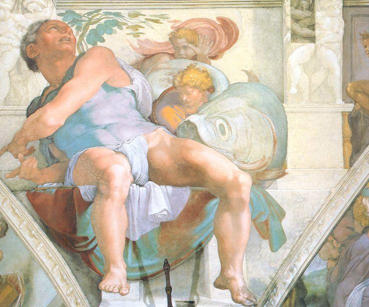Микеланджело Буонарроти (1475 — 1564) – 331 фотография  потолок сикстинской капеллы
