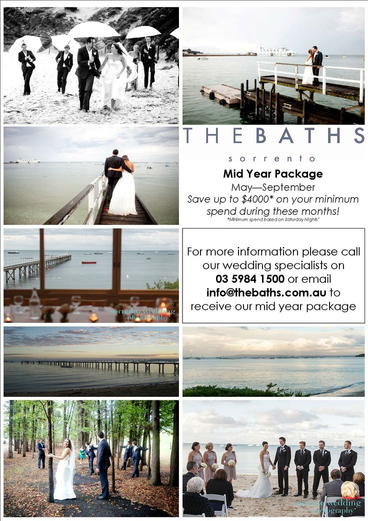 The Baths Sorrento- Restaurant Weddings and Private Functions on the Mornington Peninsula | The Baths Sorrento