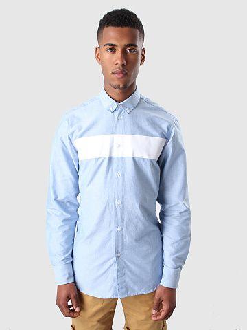 Quality Blanks QB34 Striped Oxford Shirt Blue<br> <br> Bestaat er een kleur die meer zomers is dan licht blauw? Vast niet! Want ook dit licht blauwe Quality Blanks shirt bewijst maar weer eens hoe lekker zomers dit is. Hiermee ben je dan ook klaar voor hogere temperaturen! Een chique button down kraag en een zeer frisse horizontale stripe op de borst in het wit. Sweet!<br> <br> FreshCotton verkoopt niet alleen kleding, we maken nu ook hele collecties. Onder de naam Quality Blanks inderdaad…
