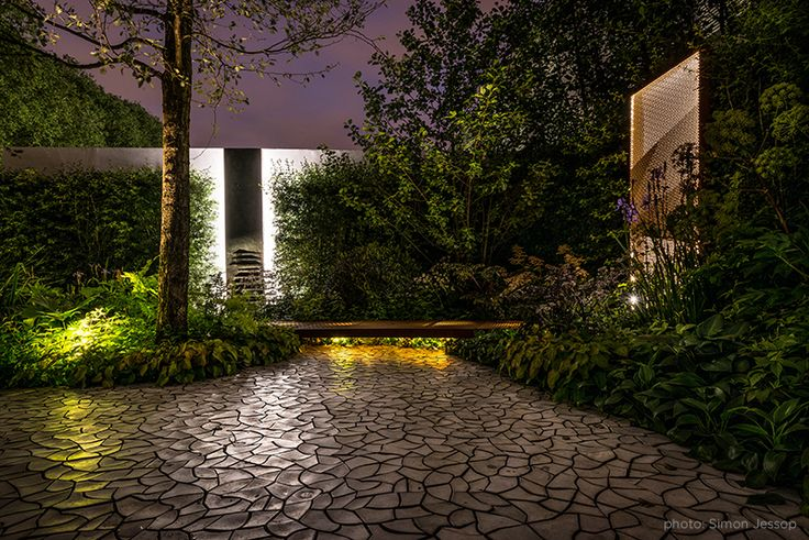 RBC Waterscape Garden at Chelsea Flower Show '14 by Hugo Bugg I KAZA Concrete