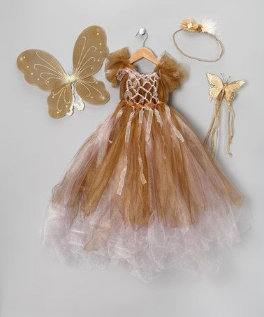 Gold Valentine Angel Dress Set by Enchanted Fairyware Couture on #zulily #zulily #baby #clothes #clothing #gift #shower #toddler #infant #girl #girls #dress #gold #brown #valentine #angel #pink #set #fairy #wings #princess #wand #butterfly #headband #flower #floral #gingerbread #ginger #bread #tulle #tutu #dance #ballet #picture #portrait #photo #photography #prop #family #card #cards #christmas #candy #candyland #land #holiday #thanksgiving #party #dinner