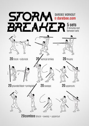Storm Breaker  Workout | Posted By: CustomWeightLossProgram.com