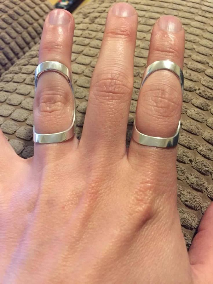 67 best Silver Finger Splints from £22 Ring Splints by ZOMILE