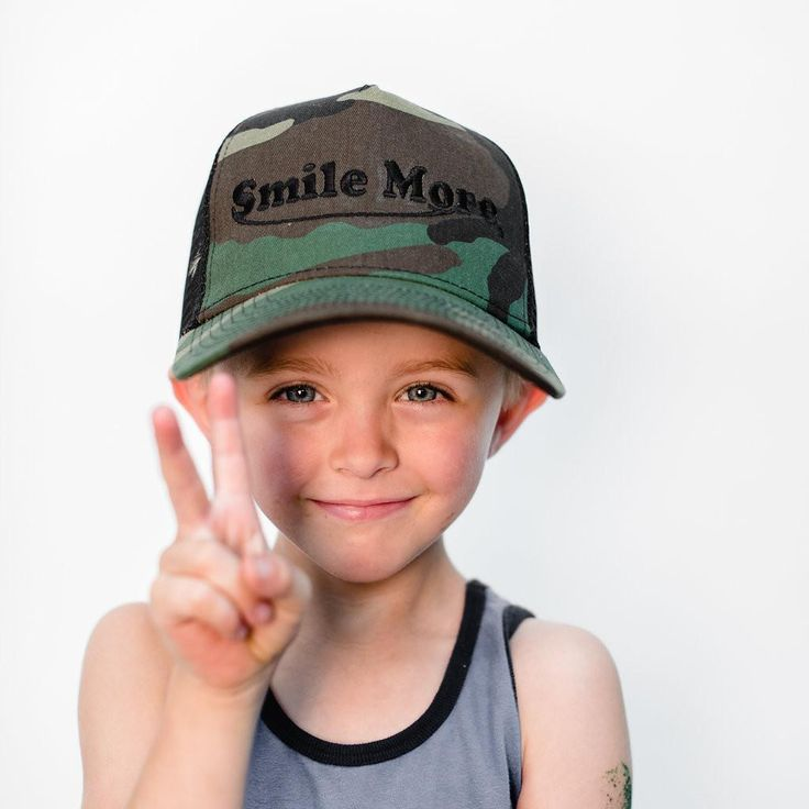 Smile More Hat