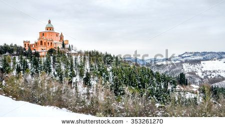 19 Jan 2013 - San Luca sanctuary winter landscape