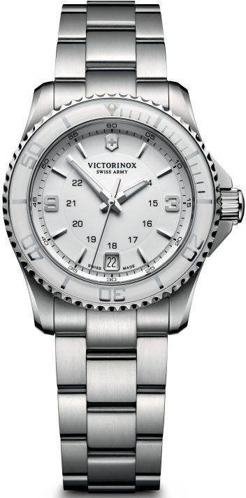 Victorinox Swiss Army Watch Maverick Small #bezel-unidirectional #bracelet-strap-steel #brand-victorinox-swiss-army #case-material-steel #case-width-34mm #classic #date-yes #delivery-timescale-call-us #dial-colour-silver #gender-ladies #movement-quartz-battery #official-stockist-for-victorinox-swiss-army-watches #packaging-victorinox-swiss-army-watch-packaging #style-sports #subcat-maverick #supplier-model-no-241699 #warranty-victorinox-swiss-army-official-3-year-guarantee…
