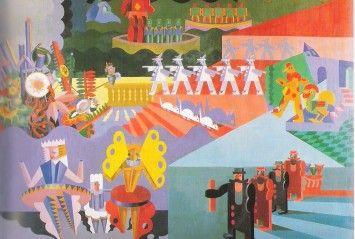 """La Fundación Juan March (Madrid) presenta a partir del 10 de octubre la exposición 'Depero futurista (1913-1950)', dedicada a la obra y la figura de Fortunato Depero (Fondo, provincia de Trento, 1892-Rovereto, 1960), cuyo objetivo es plantear una visión renovada de la que ha sido llamada """"la Vanguardia de las vanguardias"""": el futurismo italiano."""
