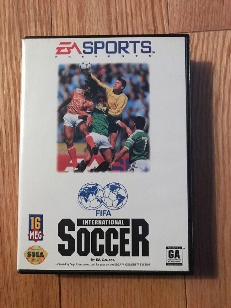 FIFA International Soccer (Sega Genesis, 1993) 14633072556   eBay