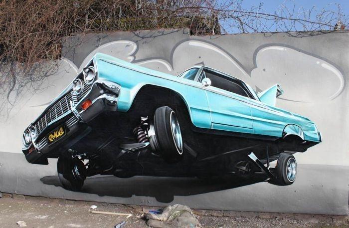Street art by SmugOne: 3D Street Art, Graffitiart, Street Artists, Art, Smug, Amazing Street Art, Photo, Graffiti Art, Streetart