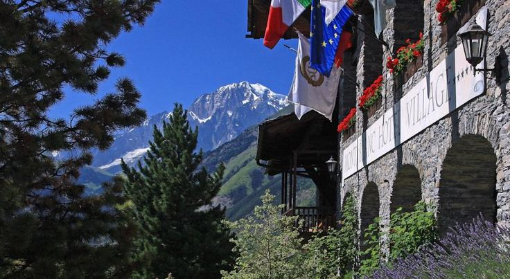 Mont Blanc Hotel Village - Small Luxury Hotels of the World La Salle Mont Blanc Hotel Village offers beautiful views of Mont Blanc, indoor and outdoor pools, free entrance to the spa, and free shuttle to Courmayeur. Wi-Fi is free throughout.