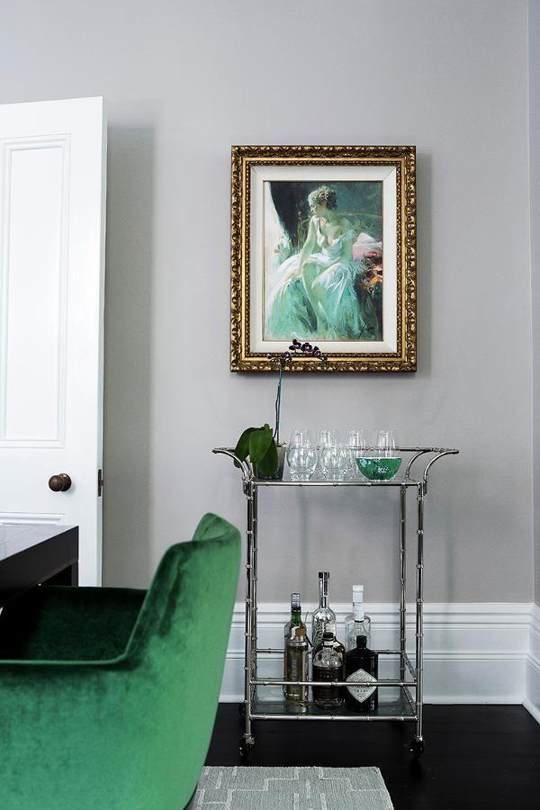 Within the beautiful bones of a Victorian era Italianate house interior designer Brendan Wong h...