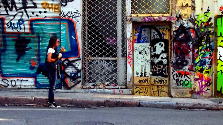 Somewhere in the streets of Athens