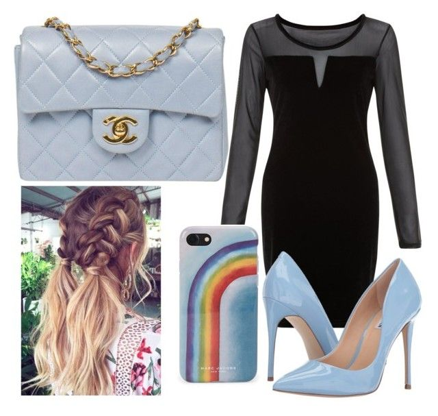 """""""Night out"""" by casa03 on Polyvore featuring Blue Vanilla, Chanel, Steve Madden and Marc Jacobs"""
