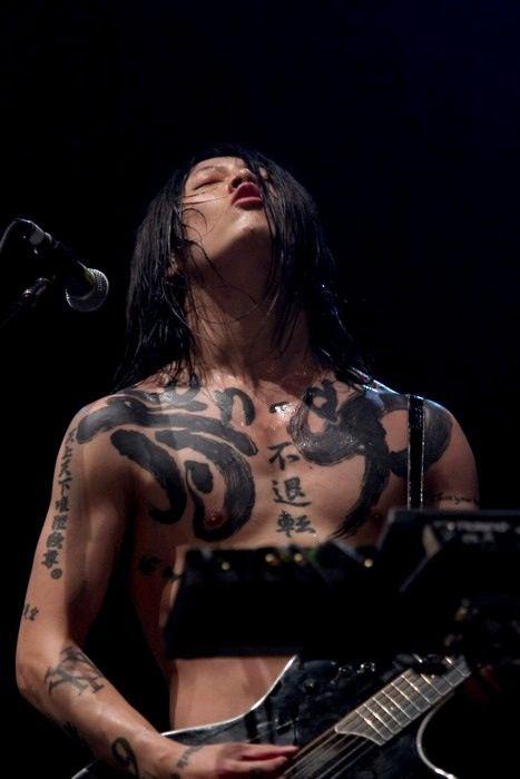 17 best images about miyavi on pinterest heart sutra for Miyavi tattoos gallery