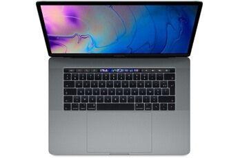 Apple MacBook Pro 15.4″ Touch Bar 512 Go SSD 16 Go RAM Intel Core i9 8 coeurs à 2,3 GHz Gris sidéral Nouveau (MV912FN/A)
