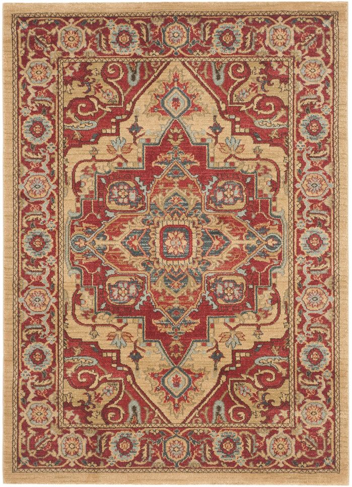 Marisol Red Area Rug