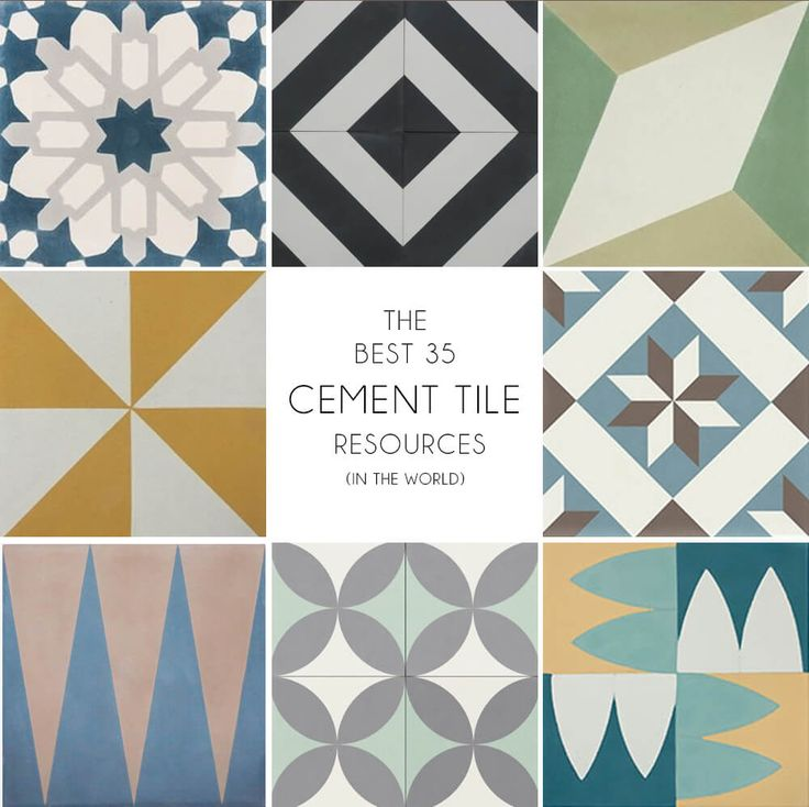 Where To Buy Cement Tiles | Emily Henderson | Bloglovin'                                                                                                                                                      More