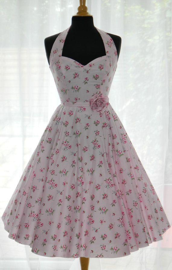 Vintage/50s/Rockabilly Style Dress by BadlyBehavedBetty on Etsy, £80.00
