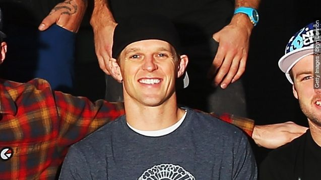 """Erik Roner, 39, was a star of MTV's """"Nitro Circus"""" and was an avid skiier, skydiver and BASE jumper."""