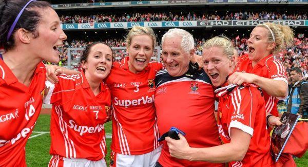 VIDEO: Cork Ladies Football Team Crowned All-Ireland Champions | Irish ...