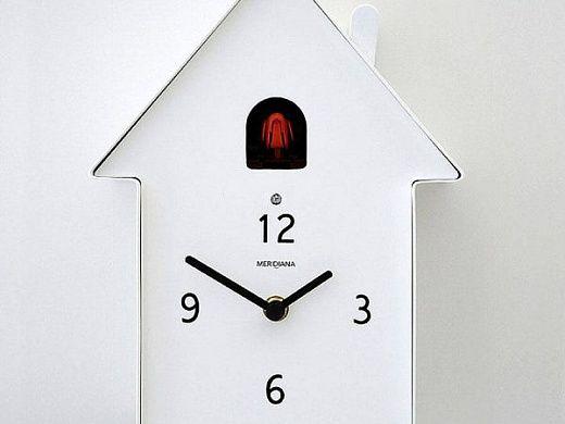 Уникальные часы с кукушкой, которые хорошо сочетаются с современным декором