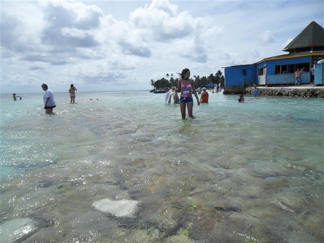 Disfrutando del mar de los 7 colores en #SanAndres. #FotoDelDia EnMiColombia.com
