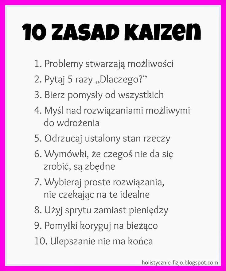 Holistycznie: Kaizen