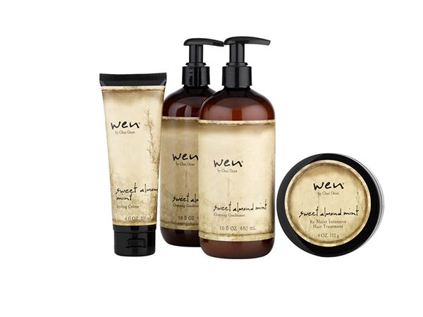 DIY Beauty: WEN recipe....-  1/4 cup part sulfate free shampoo - 3/4 cup sulfate free conditioner - 1/8 cup pure aloe vera - 5-10 drops sweet almond oil - 5-10 drops botanical extract drops