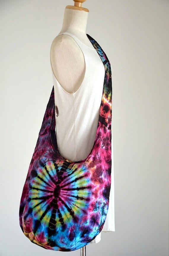 Neon Tie Dye Bag Hippie Bag Hobo Bag Sling Bag Cotton by Dollypun - designer ladies purse, purse designs, handbags and purses online *sponsored https://www.pinterest.com/purses_handbags/ https://www.pinterest.com/explore/hand-bag/ https://www.pinterest.com/purses_handbags/womens-purses/ https://en.wikipedia.org/wiki/Handbag