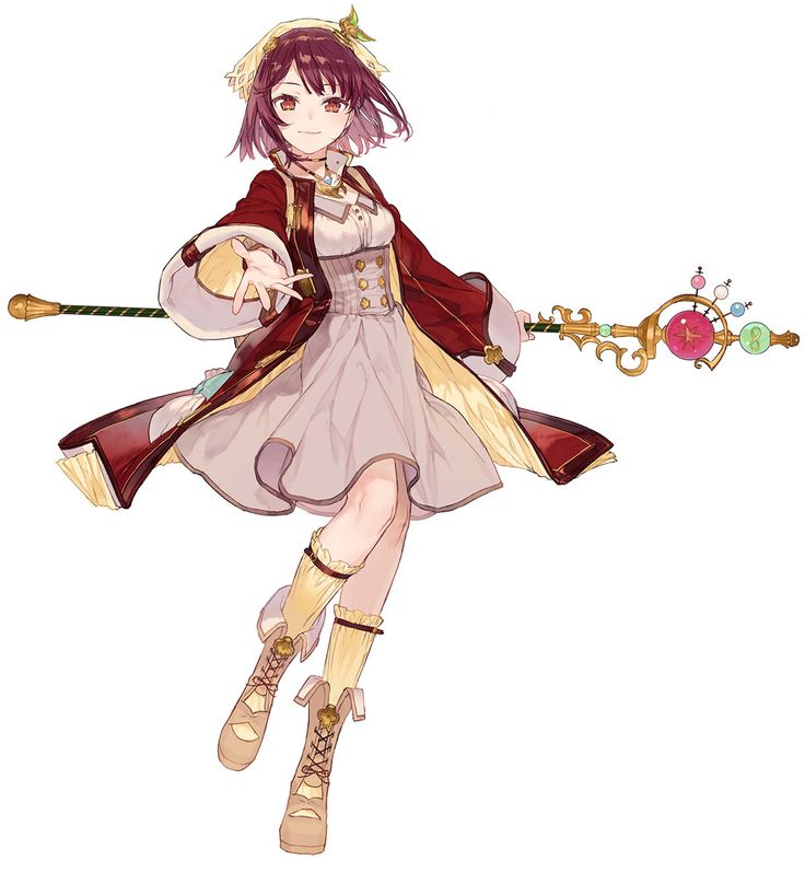 Sophie Neuenmuller from Atelier Firis: The Alchemist and the Mysterious Journey