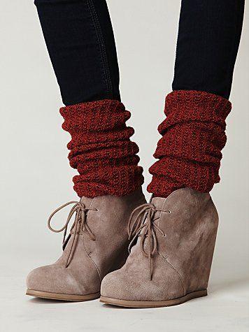 tall socks with booties