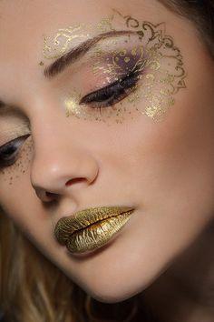 gold makeup - Google Search