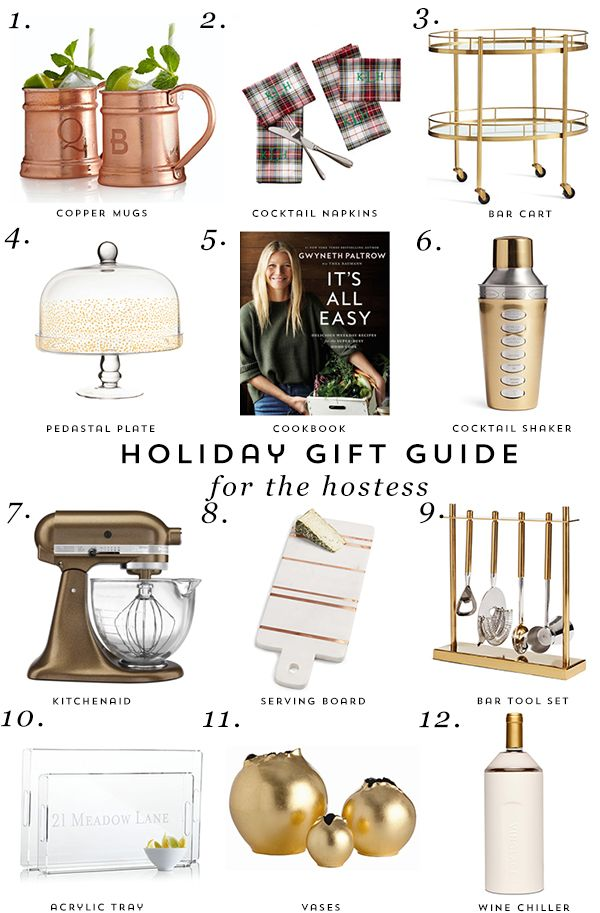 Gift Guide For The Hostess Get The Best Most Unique Gifts For