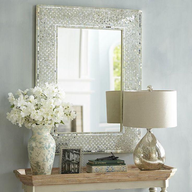 Blanc Mosaic 30x40 Mirror  Ponderosa  Mirror Mirror
