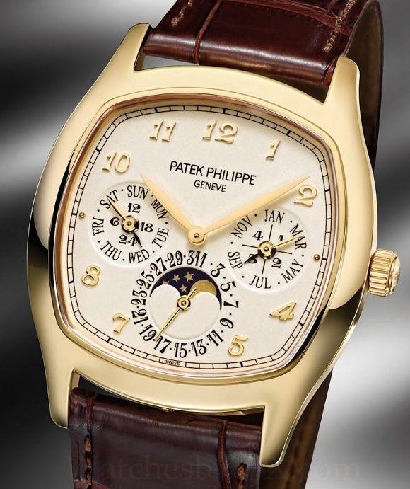 Perpetual Calendar Patek : Patek philippe j perpetual calendar in yellow gold