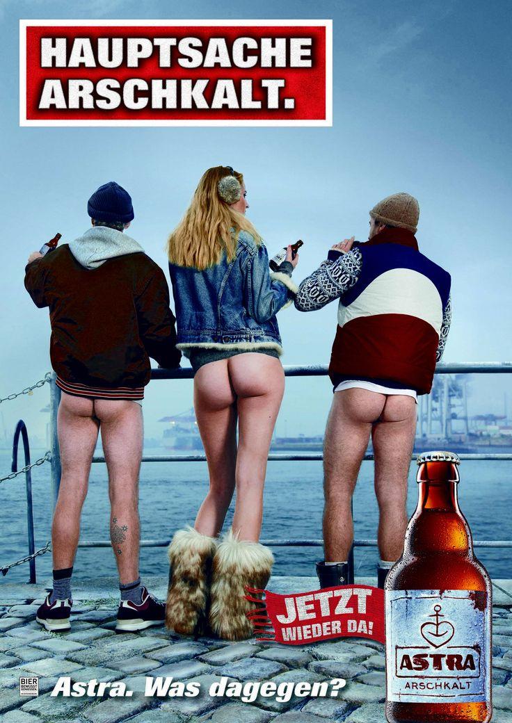 Neue Astra Kampagne für den Winterbock