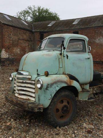 1950 Chevrolet Chevy COE pickup truck Barn find Hot rod v8 - very original For Sale Milton Keynes , jct14 M1, United Kingdom | AutoMotoClassicSale.com