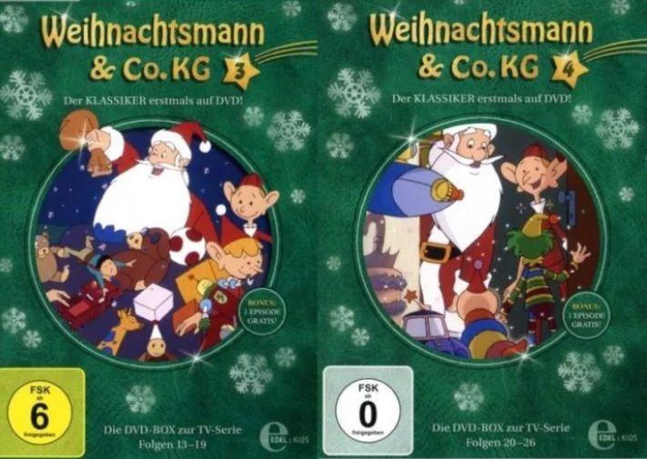 """Gewinnspiel - wir verlosen die komplette Serie """"Weihnachtsmann & Co. KG"""" als DVD-Box! Zum Teilnahmeformular:"""