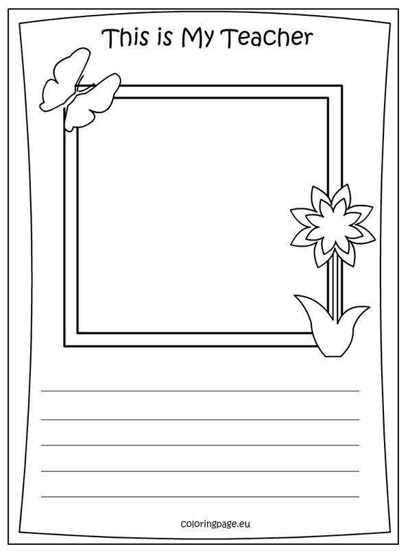63 best images about school on pinterest preschool for Best teacher coloring pages