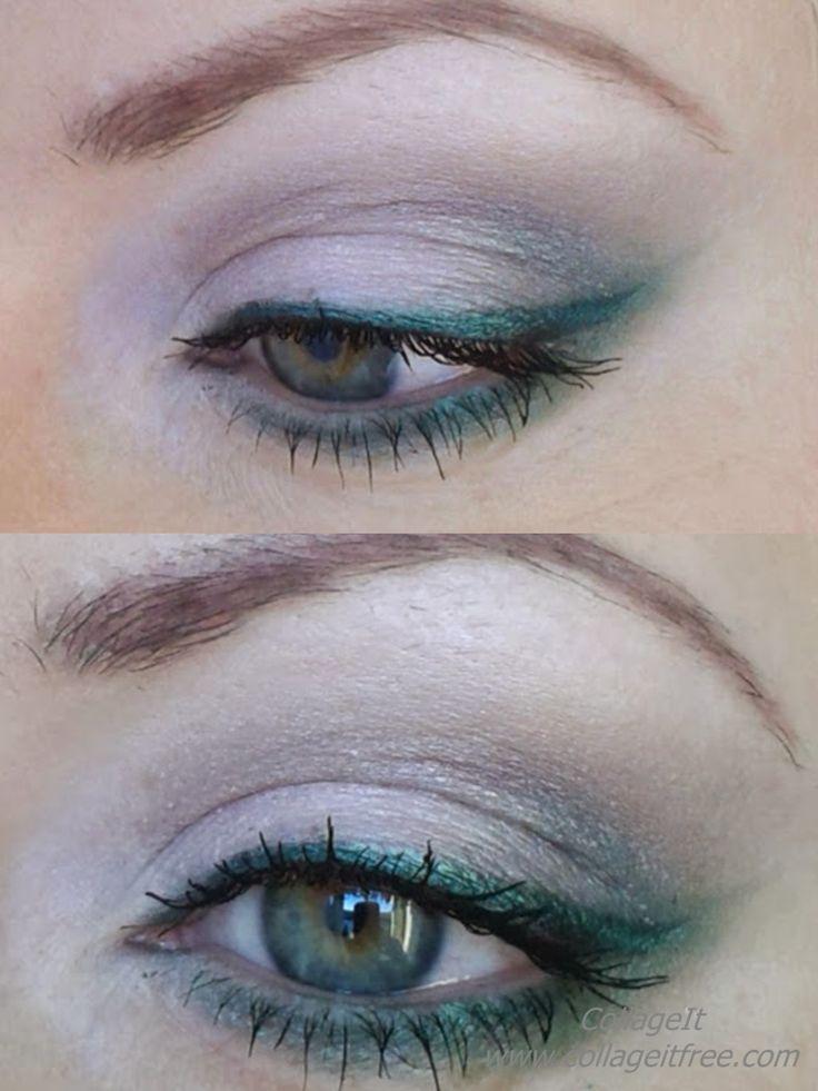 green eyes...