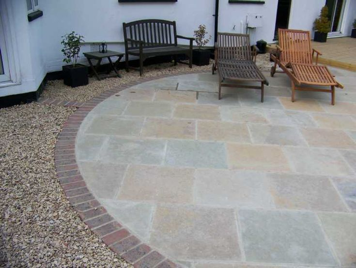 garden patio paving garden inspiration