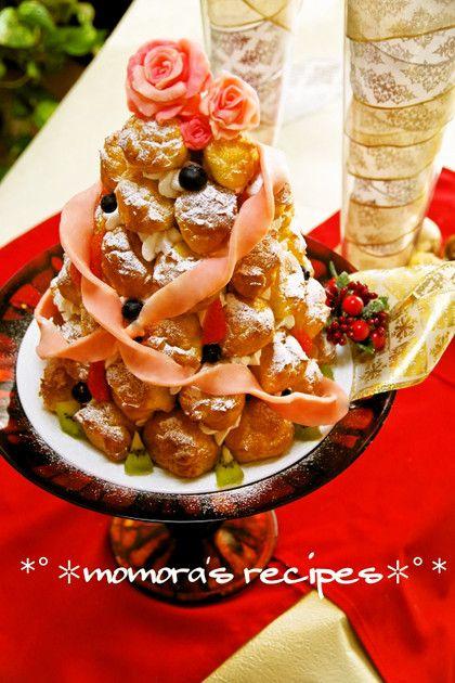 HMで簡単クロカンブッシュ♡お誕生日にも by ❤ももら❤ [クックパッド] 簡単おいしいみんなのレシピが224万品